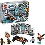 LEGO 乐高 漫威超级英雄 钢铁侠武器库 76167