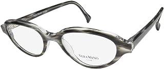 Vera Wang Luxe Harlowe 女士/女士猫眼全框弹簧铰链眼镜/眼镜