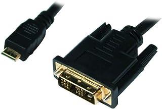 LogiLink CHM002 Mini HDMI 转 DVI-D 数据线 1 米