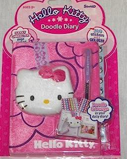 Hello Kitty 涂鸦日记本