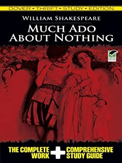 Much Ado About Nothing Thrift Study Edition (Dover Thrift Study Edition) (English Edition)