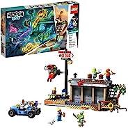 "Lego 隐藏式侧虾惊击 70422 增强现实感 [AR] 积木套装,配有幽灵迷你人形玩具车,幽灵猎犬,技术玩具适合男孩和女孩,2019(579 件) ""Multi"""