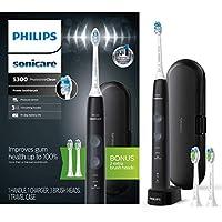 Philips 飛利浦 Sonicare ProtectiveClean 5300 充電式電動牙刷 黑色 HX6423/34