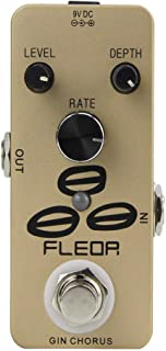 FLEOR 吉他效果踏板装置,带真旁路 Chorus