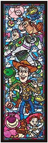456片 拼图玩具 玩具总动员 彩绘玻璃 嵌套系列 【彩绘艺术】(18.5x55.5cm)