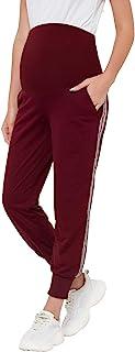 GINKANA 孕妇运动裤 孕妇瑜伽运动裤 健身慢跑裤 带口袋