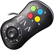 NEOGEO MINI PAD 控制器游戏日本黑 SNK 耳道式/ 入耳式 耳内 黑色