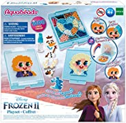 Aquabeads 迪士尼《冰雪奇緣》 2兒童手工藝品玩具珠子,完整的活動套裝,多種