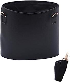 sleeri 汽车垃圾袋悬挂 - 汽车垃圾桶,汽车靠背座椅靠枕猫砂垃圾袋,汽车垃圾袋,汽车垃圾桶收纳袋,汽车垃圾桶收纳袋 - 自动垃圾桶适合旅行,户外 黑色 LJDAH-JP
