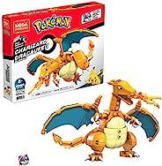 Mega Construx Pokemon Charizard 建筑套装,儿童搭建玩具