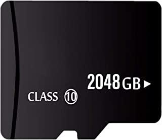 2TB Micro 内存卡带适配器适用于 2TB Micro SD 卡插槽。