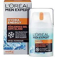 L'Oreal Paris 巴黎欧莱雅 男士专家 劲能哑光保湿防油清爽面霜,适用于男士疲劳型肤质(1 x 50ml)