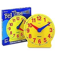 Learning Resources Big Time 学习时钟,12小时,发展基础数学,适合5岁以上的人群