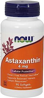 NOW Foods 虾青素4 mg,90软胶囊