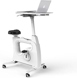 FLEXISPOT 桌面健身自行车家庭办公室立式桌面自行车,Deskcise Pro - 白色