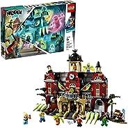 "LEGO Hidden Side Newbury Haunted High School 70425 建筑套装,适合 9 岁以上男孩和女孩的学校玩具,互动增强现实玩具套装,新款 2019 年(1,474 件) ""Mult"