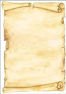 Sigel 主题印花纸张 羊皮纸 Motiv Pergament, 50 Blatt Motiv Pergament, 50 Blatt
