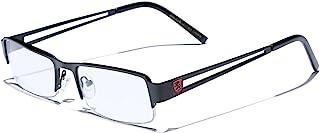 小型矩形镜框透明镜片设计师太阳镜 RX 光学眼镜