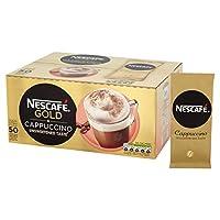 NESCAFé GOLD 不加糖 卡布奇諾咖啡 袋裝, 50袋 x14.2g