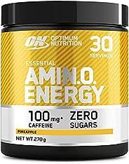 Optimum Nutrition 欧普特蒙 氨基酸能量 锻炼前补充粉末 含有β丙氨酸、咖啡因、氨基酸和维生素C,菠萝味,30份,270克