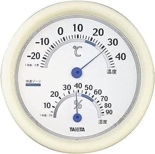 TANITA 温湿度计 温度湿度 模拟 白色 TT-513 WH