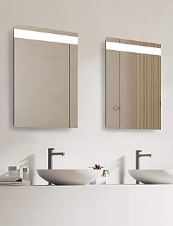 Talos Home 浴室镜 银色 45 x 65 厘米