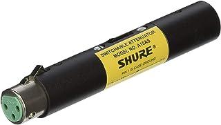 Shure 舒尔 A15AS 可切换衰减器(15、20、25 dB),通过幻影电源