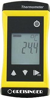 GHM Greisinger G1730 精密通用温度计,带固定插入感,直径1.5毫米,黄色,1.5毫米