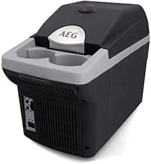 AEG 汽车板酒吧 BK 6 热电冷却和保温箱 6 升 12 V 用于汽车和插座,可系在轿车上