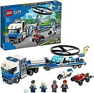 LEGO 乐高 城市系列 警察直升机运输 60244
