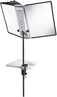 Durable 581800 Sherpa Desk Clamp 10套餐桌架和10张视线A4)黑色