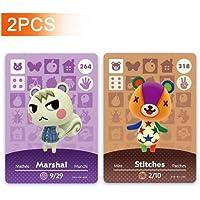 * 264 号 Marshal & * 318 针 Animal Crossing Amiibo 卡片系列 3.4。*三…