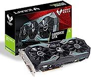 MAXSUN GeForce GTX 1660 Ti iCraft 6GB 192 位 GDDR6 游戏视频显卡 GPU 3 扇性能冷却和 RGB 照明