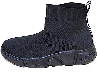 Space Girl 鞋 布料袜 脚踝 一脚蹬式 靴子