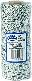 QLT MARSHALLTOWN 635 500 英尺 Mason's Line Flecked 白色粘合和编织