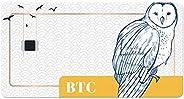 Tangem 比特币(BTC)硬件冷钱包 - *佳加密礼物 - 易于使用的比特币钱包,适合所有人