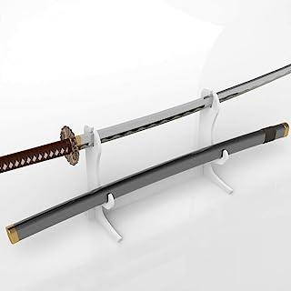 WANLIAN 剑架,剑钩,亚克力双层壁挂武士刀架展示架,支持所有剑