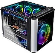 Thermaltake LCGS L20 AVT-02 AIO 液体冷却 CPU 游戏电脑(AMD RYZEN 5 3600X 3.8GHz,DDR4 3200Mhz 16GB RGB 内存,RTX 2060 Super