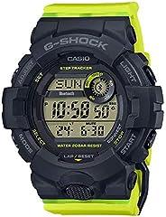 Casio 卡西欧 GMDB800SC-1B G-Shock 女士手表 黄色 50.7mm 树脂