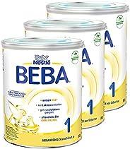Nestlé 雀巢 BEBA 婴儿奶粉 1段(适用于初生婴儿),3罐装(3 x 800g)