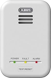 ABUS 气体探测器 GWM100ME 适用于餐饮站 - 天然气(甲烷)/ 城市气体 - 警报强度 85 分贝 - 白色 - 81443