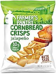 Farmer's Pantry 大包装 玉米面包薯片,墨西哥胡椒,2盎司(56.7g)(