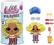 L.O.L. Surprise! Hairgoals 系列2 真人公仔和15个惊喜,配件,惊喜娃娃