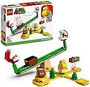 LEGO 乐高 超级马里奥 食人鱼植物动力跷跷板 71365 扩充套件,拼插玩具