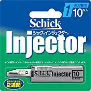 Schick Schick Injector 1片刀片 替换刀片(10片装)