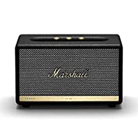 Marshall 馬歇爾 Acton II 無線Wi-Fi多房間智能揚聲器,內置Amazon Alexa,黑色-新