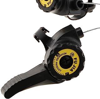 Fairedear 1 对 MTB 自行车速度拇指齿轮移位器 3x5/6/7 速度 MTB 自行车扭转握把户外顶部安装移位杆城市自行车、公路自行车、折叠自行车