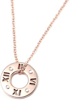 Tiffany & Co 蒂芙尼 钻石 18KRG 玫瑰金 Atlas系列 吊坠 小型 圆形明亮式切割 30480554