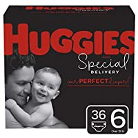 HUGGIES Giga Jr Pack 6 36