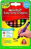 Crayola 绘儿乐 8色可水洗三角蜡笔 81-1308